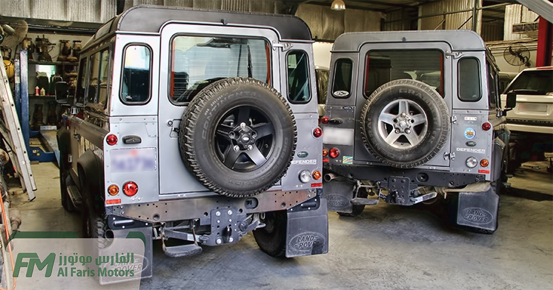 LAND ROVER DEFENDERS FOR DIFFERENT THINGS TO BE DONE