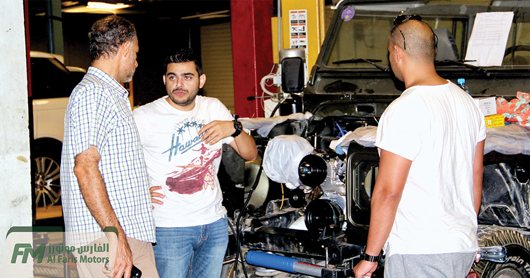 Discussing about the Land Rover Defender 110 restoration process